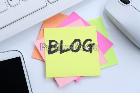 blog schreiben blogger online im internet
