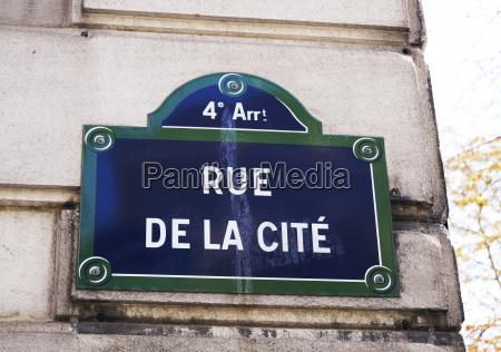 paris frankreich unterschreiben strasse