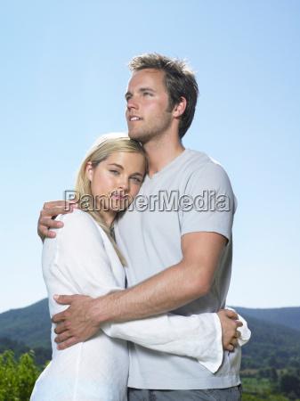 couple in sun