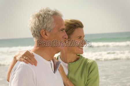 profile portrait of couple on a