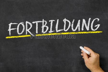 text on blackboard education