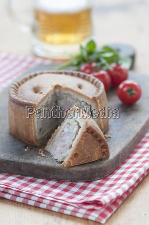 still life of melton mowbray pork