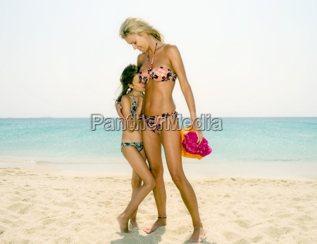 woman and young girl at the