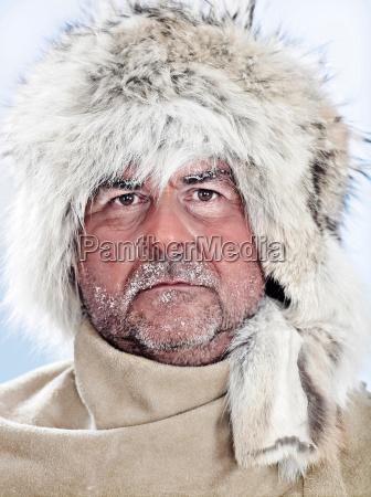 portrait of a man wearing a
