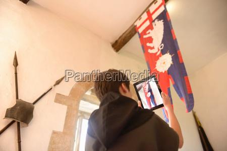 geschichtsstudent fotografiert richard iii banner bolton
