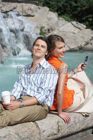 businessman and women