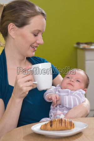young woman in coffee shop with