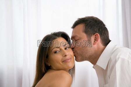 natural image of young couple at