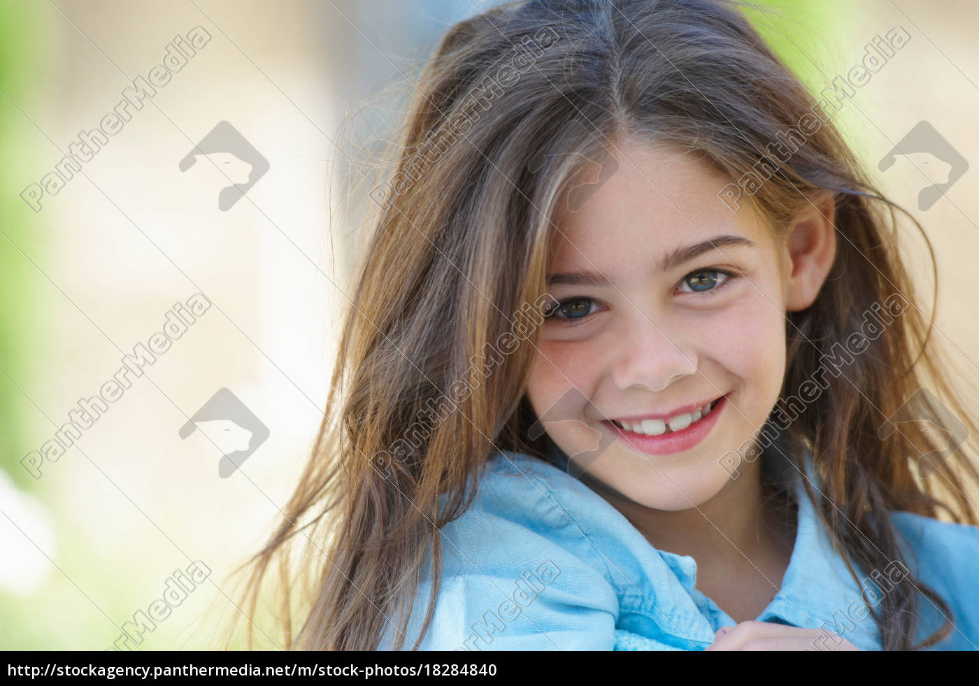 close, up, of, girl?s, smiling, face - 18284840