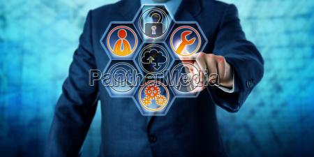 enterprise client aktivieren von managed services