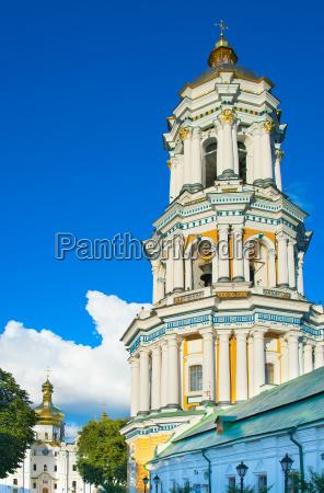 kiev pechersk lavra architecture ukraine