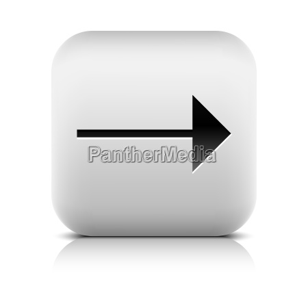 gray icon with black arrow sign