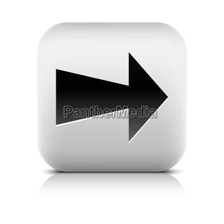 platz knopf button quadrat unterschreiben ikone