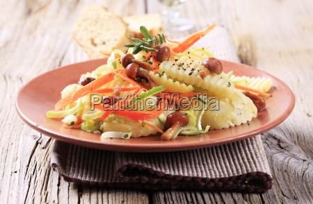 kartoffel champignon salat