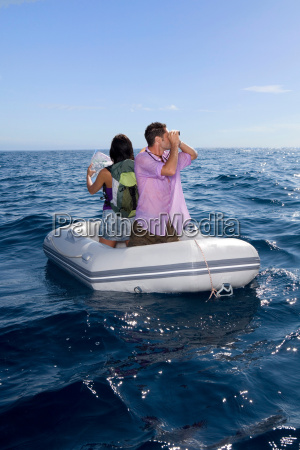 couple lost at sea on little