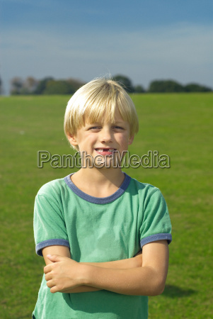 young, boy, smiling - 18306470