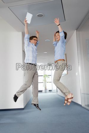 business, people, jumping, for, joy - 18319722