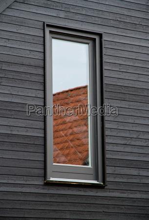 fenster reflektierende dachziegel