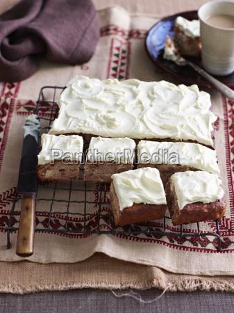 still life of baking tray with
