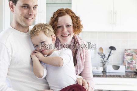 portrait of mid adult couple and