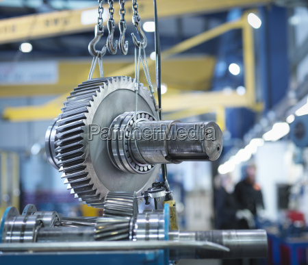 gear for industrial gearbox in engineering