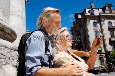 couple looking at camera