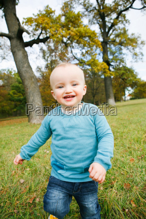 little child in park