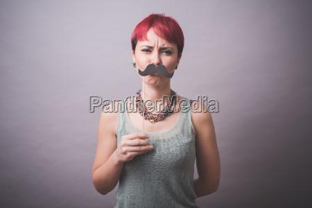 frau weiblich gesicht portrait portraet potrait