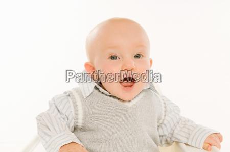 a, portrait, of, a, baby, boy. - 18418640