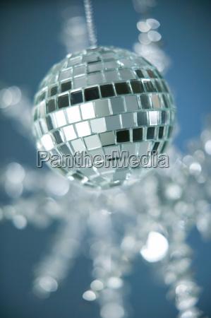 disco kugel weihnachtsschmuck