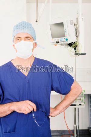 a portrait of a male surgeon