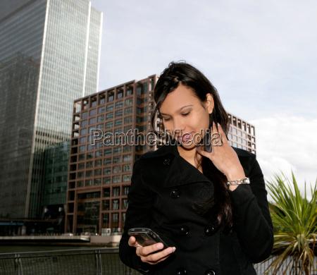 portrait businesswoman