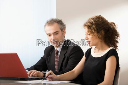 latin business couple