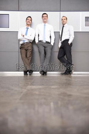 business people having informal meeting
