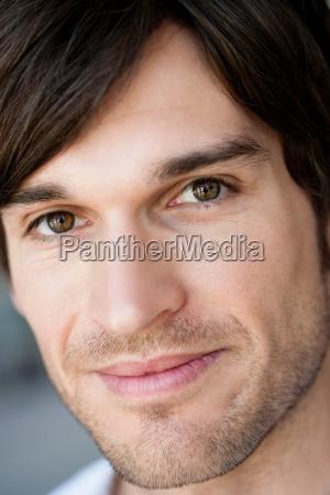 man portrait close up