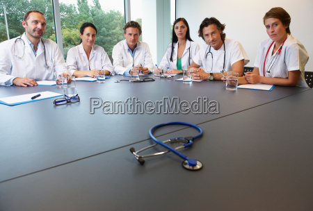 doctors in conference room