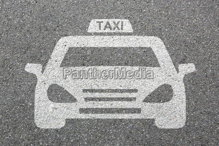 taxi car plate logo vehicle road