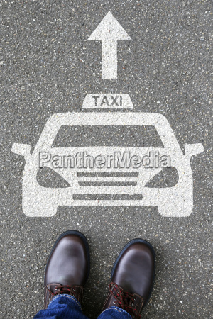 man man taxi car plate logo