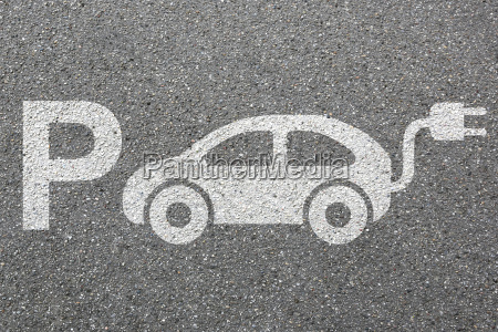 parking electric car electric car park