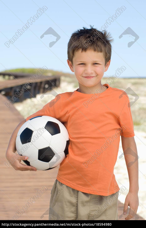 boy, with, a, football - 18594980