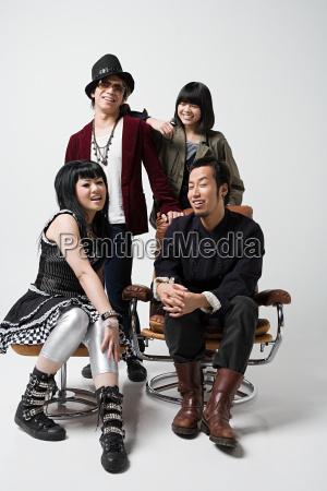 stylish young japanese people