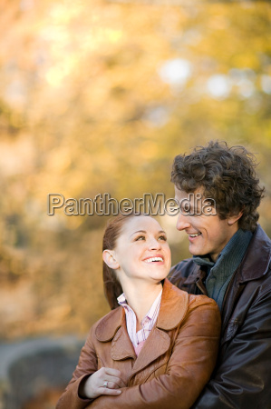 couple in a park