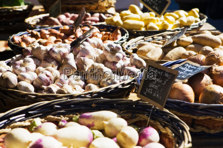 market stall in france