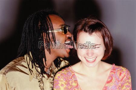 happy funky couple