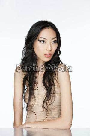 glamorous young woman