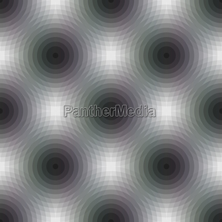 nahtloser muster hintergrund mit geometrischen formen