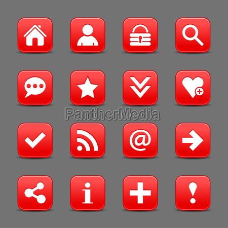red satin symbol web taste mit