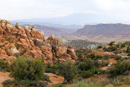 fiery furnace arches national park utah