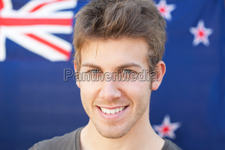 young man and and new zealand