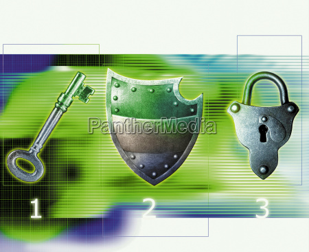 schloss metall beschuetzen schutz schuetzen technologie